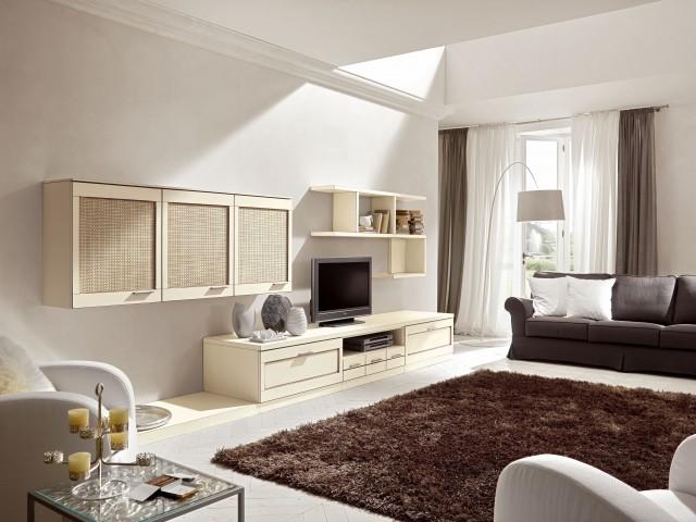 Soggiorno vintage moderno soggiorno moderno componibile for Idee arredo soggiorno moderno