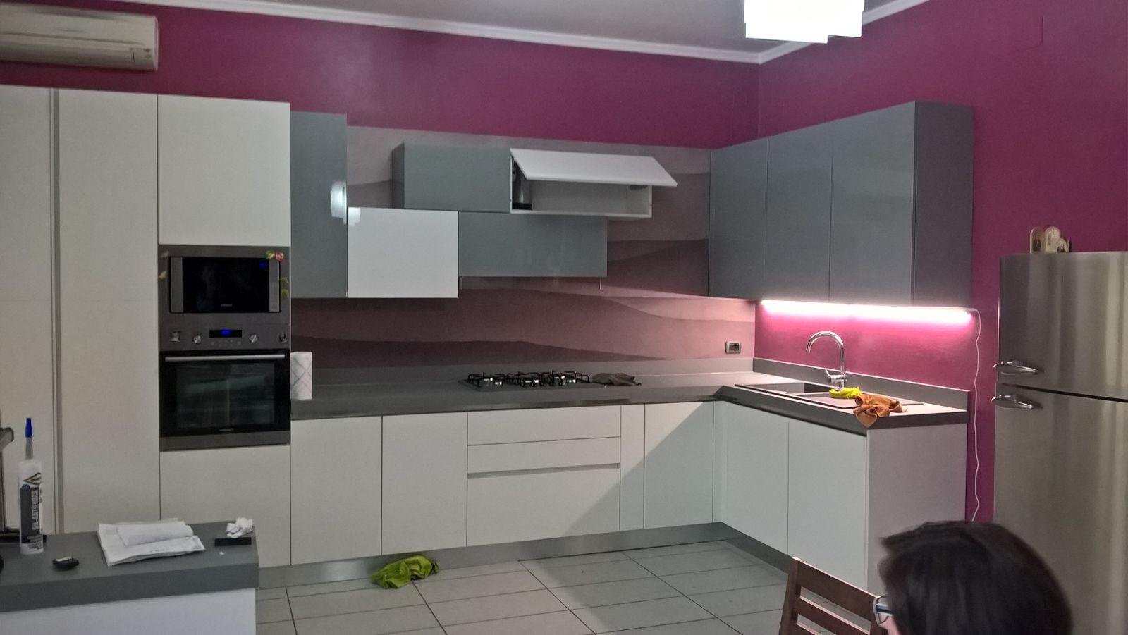 Schienale cucina beautiful zampieri cucine mod glastone in kerlite gres tornabuoni e vetro with - Zampieri cucine opinioni ...