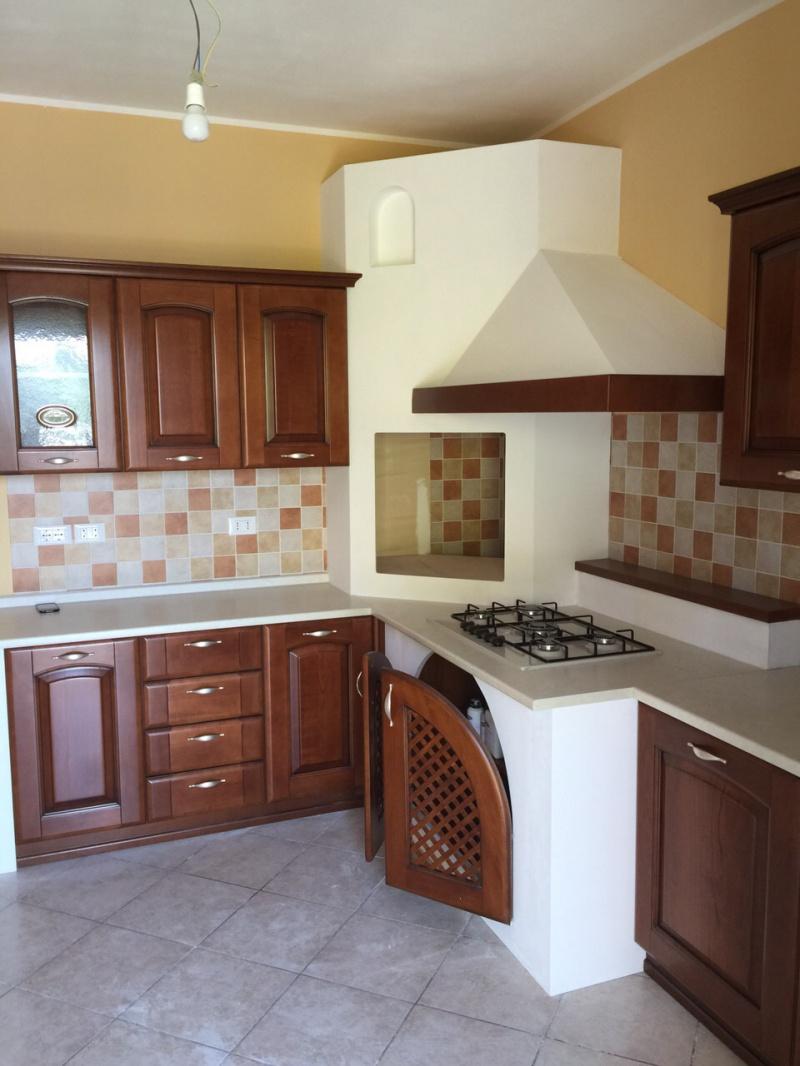 Cucina in finta muratura montata in provincia di Reggio Emilia ...