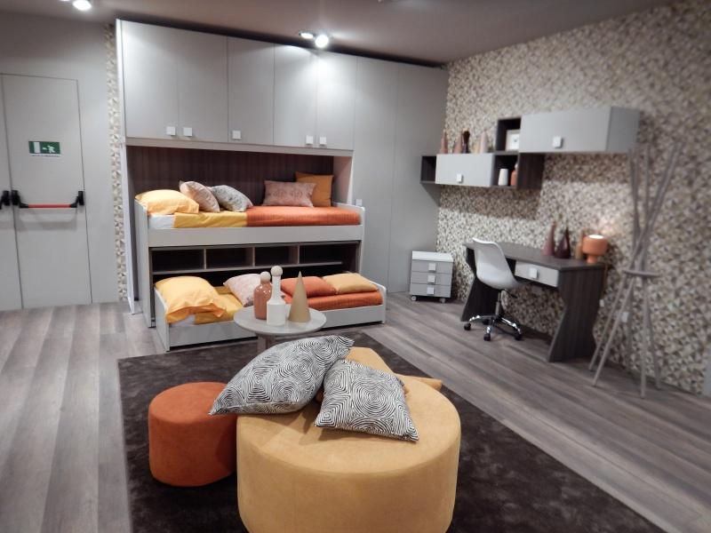 Camera per ragazzi con letto multifunzione stanza per - Soluzioni letto per piccoli spazi ...