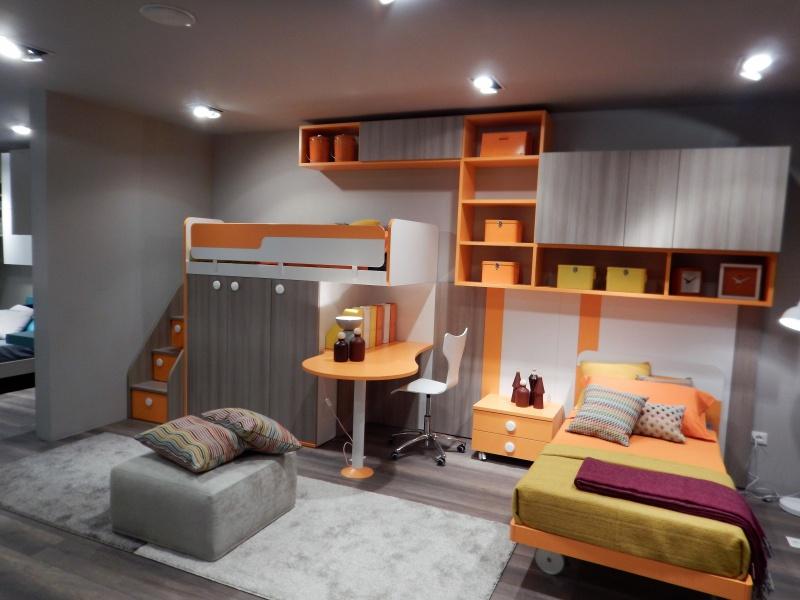 Cameretta ragazzi colorata e multifunzione camera ragazzi for Mobili per camera
