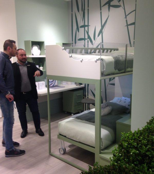 Letti A Castello Produzione.Nuovo Letto A Castello Novita Salone Del Mobile Ilma Mobili